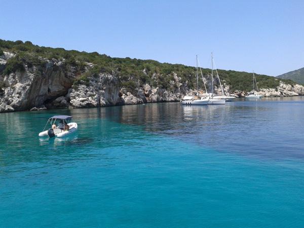 Alghero blue water