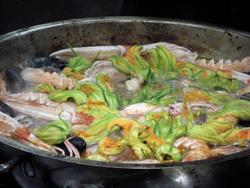 Seafood in Alghero