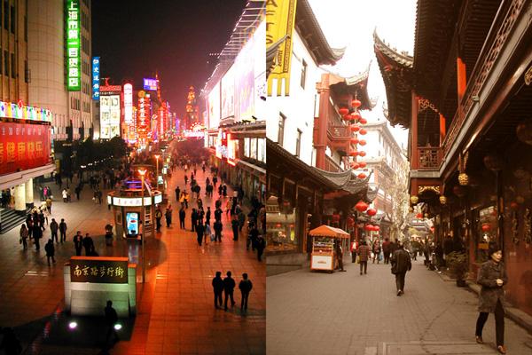 New vs Old Shanghai