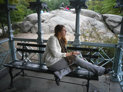 SATC lunch in central park