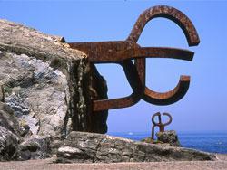 Peine de Viento's sculpture