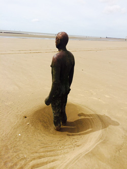 'Another place' by Antony Gormley