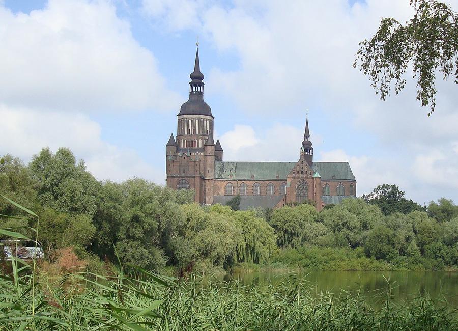 St Mary's Church, Stralsund, Germany