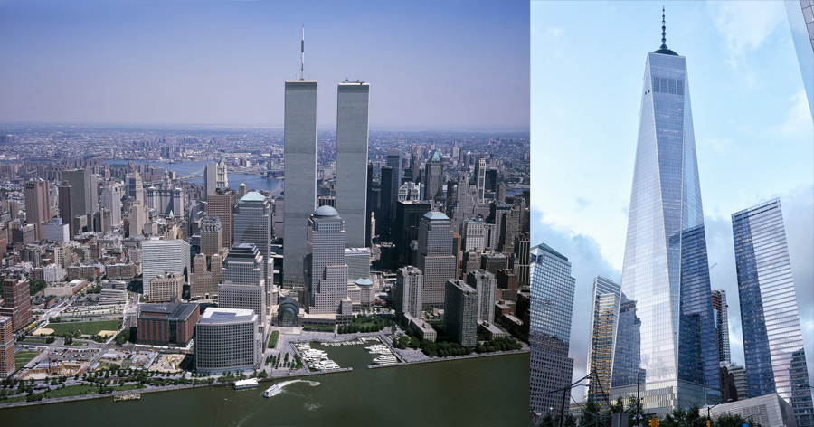 World Trade Center and Freedom Tower, New York