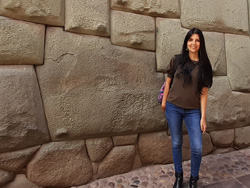 twelve-angled stone in Cusco, Peru