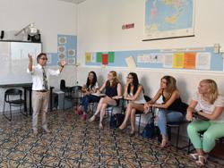Italian class in Rome