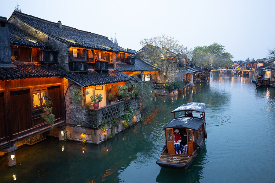 Water town in Shanghai