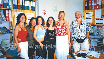 Teachers at our school in Viareggio
