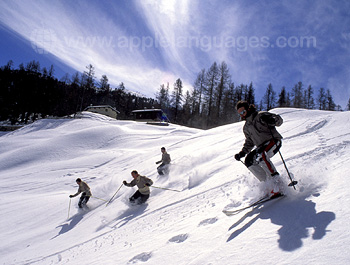 Kitzbuhel offers great skiing!