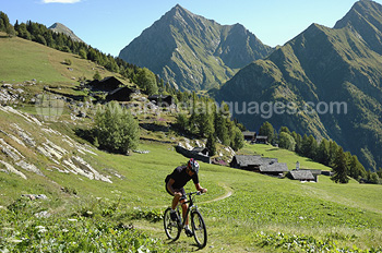 Kitzbuhel is great for mountain biking ...