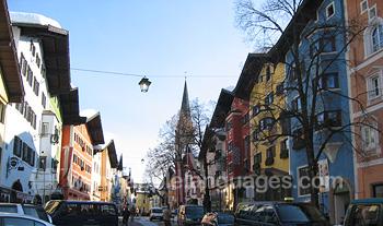 Kitzbuhel is a beautiful location