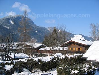 View over Kitzbuhel