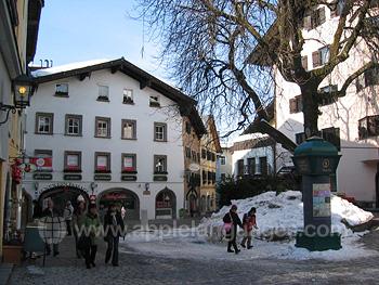 Kitzbuhel town centre