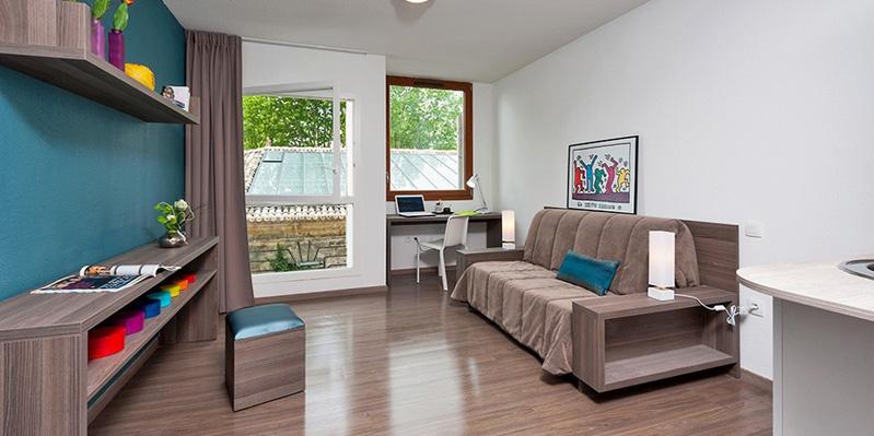 Room in summer residence