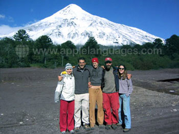 Chile also has snow-capped volcanoes!