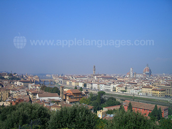 The view from Piazzale Michelangelo