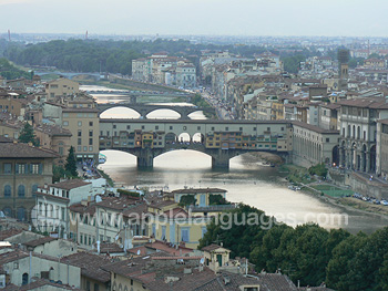 Bridges on the the river Arno
