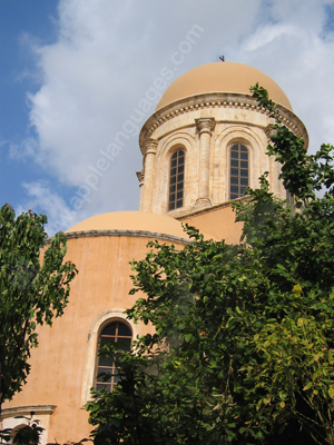 One of the many churches on Crete