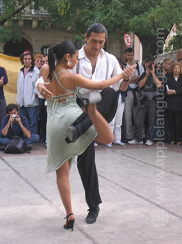 Spanish and Tango, buenos Aires