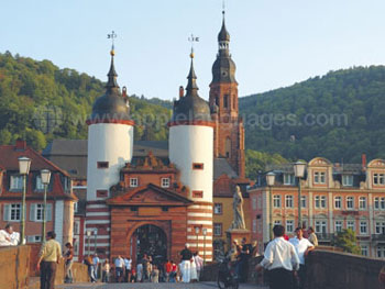 Spectacular architecture in Heidelberg