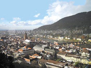 View over Heidelberg
