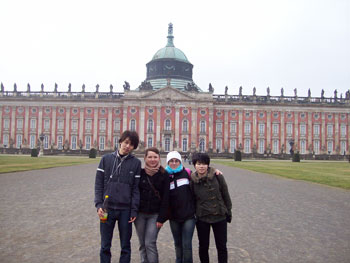 Visit to Potsdam Castle