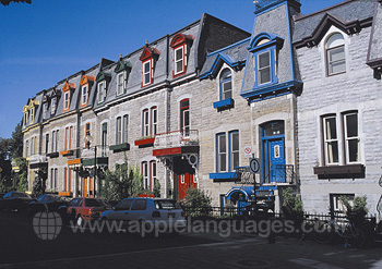 Typical houses, Montreal