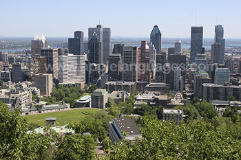Montreal in the summer