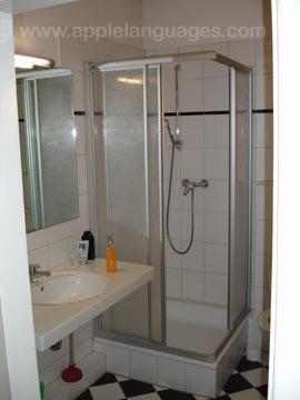 Shower in school residence