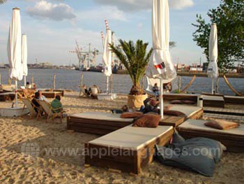 Hamburg also has beaches!