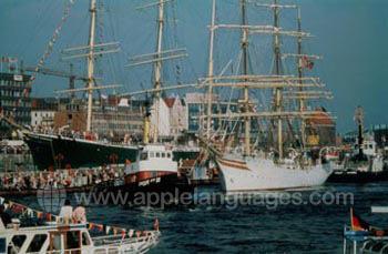 Historic sailing regatta