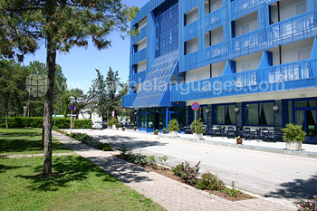 On-site student residence