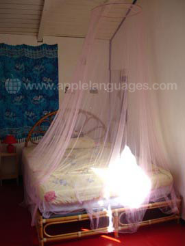 Student bedroom, host family
