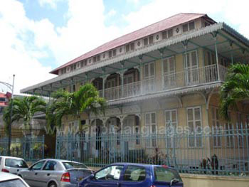 Historic building in Pointe-à-Pitre