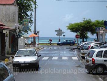Street scene, Sainte Anne
