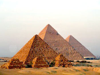 The world famous Pyramids