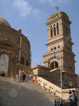 The Coptic area of Cairo