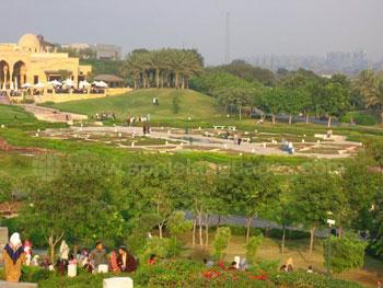 Al Azhar Park in Cairo