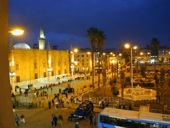 Al Hussein Square in Cairo