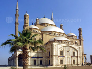 The Mosque of Muhammad Ali in Cairo