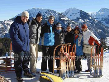 School ski excursion
