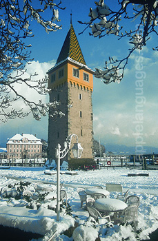 Lindau in winter