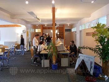 The school internet café in Lindau
