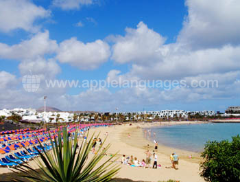 Beach at Costa Teguise