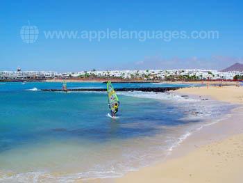 Las Cucharas beach