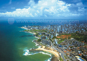 Aerial view of Salvador