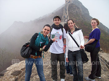 Students enjoying an excursion