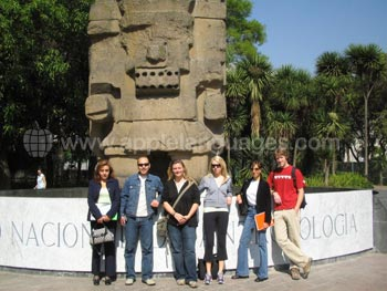 Students in Mexico City
