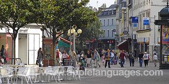 The city centre, Rouen