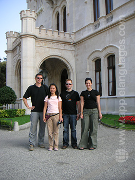 Excursion to Miramare